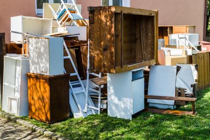 家具の廃棄処分